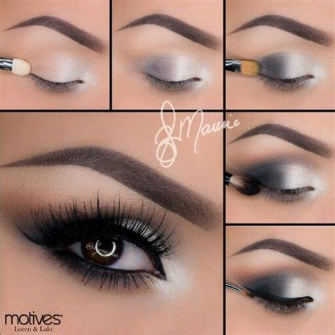 silver smokey eye prom pinterest silver smokey eye