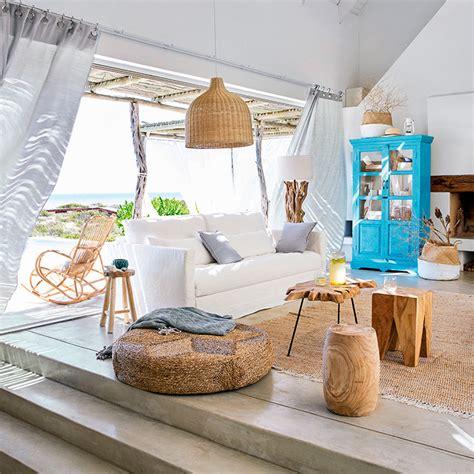 Modern Chic Living Room Ideas - arredare casa al mare arredamento marinaro maisons du monde