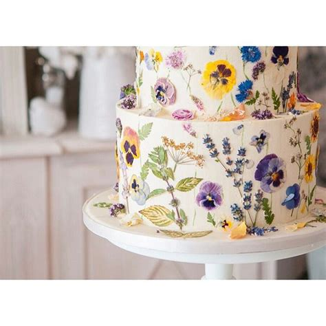 edible flowers cake ideas  pinterest edible