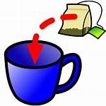 Tea Bag Clipart Cup Coffee Drink Transparent