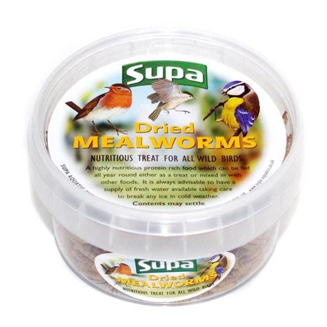 buy supa dried mealworms wild bird food 225ml