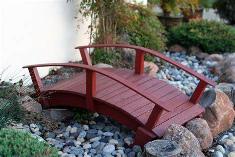 pdf small wooden bridges for gardens plans free