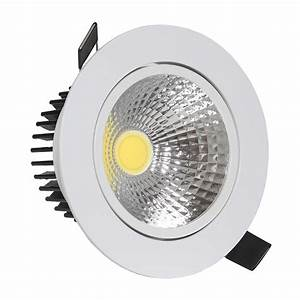 Spot à Led : lighting led cob spot down light with transformer white ~ Melissatoandfro.com Idées de Décoration
