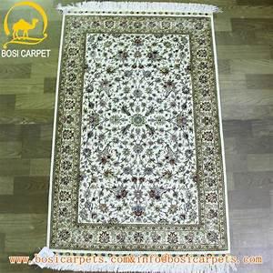25x4ft vert couleur en soie iranienne tapis et tapis a la With prix tapis iranien fait main