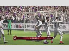 Fifa 15 Gameplay 1 Real Madrid Barcelona Xbox 360