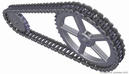 Chain Bike Rotation Animation Mechanical Engineering 3d