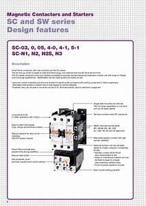 Catalog Contactor Fuji Electric