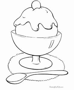 Ice Cream Coloring Pages For Kids - Coloring Home