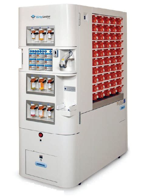 medicine automated dispensing system kl kirby lester pharmacy  computer robotic
