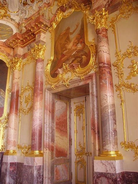 german interior  influenced  rococo design style