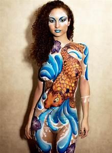 35 Female Body Painting Designs (Amazing Photos)