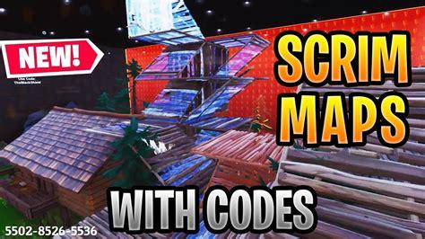 updated fortnite creative scrim maps  codes zone