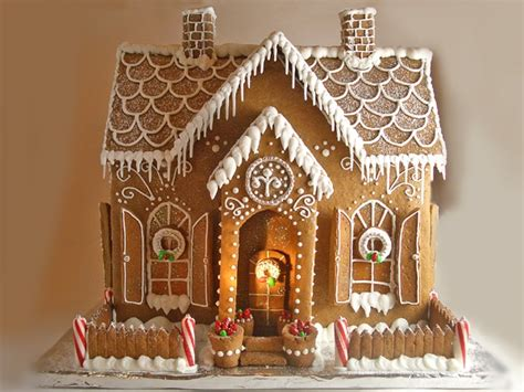 incredible gingerbread houses pretty  party party