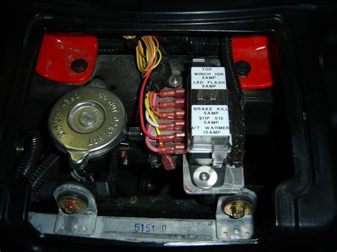 2006 Polari 500 Fuse Box by Installing Polaris Winch Connection