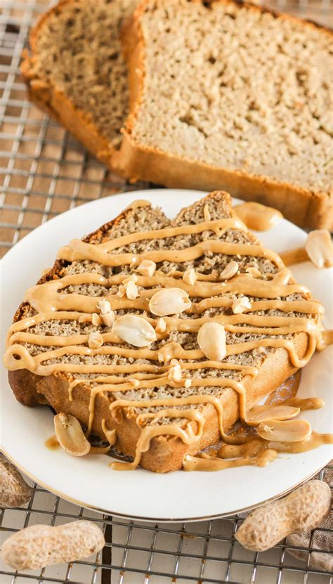 Healthy Peanut Butter Banana Bread Recipe | Desserts with
