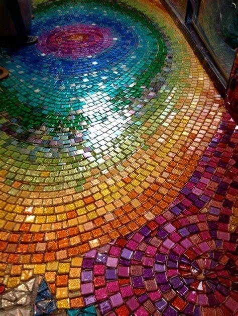 mosiac floor 30 mosaic design ideas