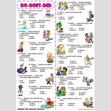 Auxiliary Verbs Esl Printable Worksheets And Exercises
