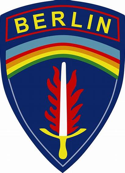 Berlin Army Brigade Patch Svg Insignia Shoulder
