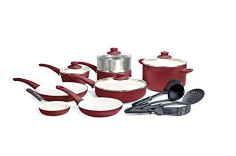 greenlife soft grip pc ceramic  stick cookware set