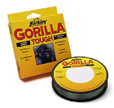 gorilla line berkley tough braided fishing fishingworld