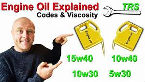 Engine Oil Explained Oil Viscosity Explained Youtube