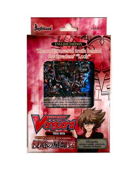 vanguard trial deck 12 bushiroad cardfight vanguard vader trial