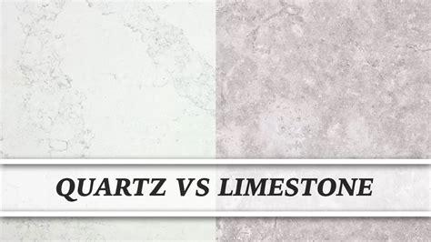 quartz vs limestone countertop comparison