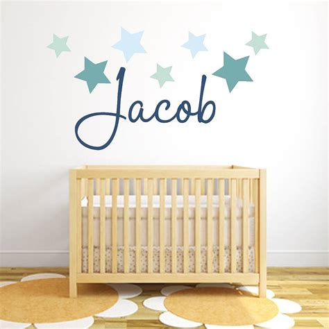 stickers chambre bébé disney name fabric wall stickers by littleprints