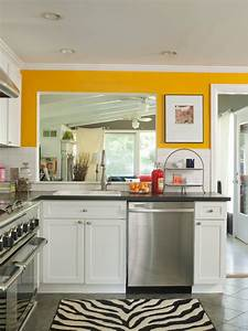 yellow kitchen ideas - TjiHome