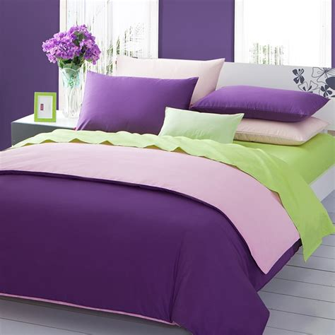 sleep  green  purple bedding atzinecom
