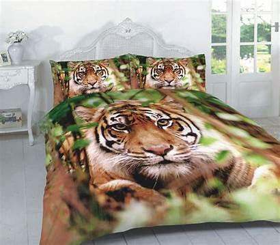 Tiger Duvet 3d Effect Bedding Sets Animal