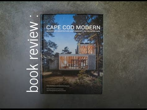 Cape Cod Modern Book Review Youtube