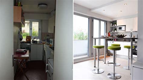 avant apr 232 s ouvrir une cuisine sur le salon pour
