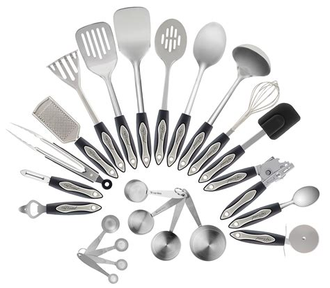 kitchen stainless steel utensil utensils chef cooking essential piece material amazon cookware pc safe everything need materials metal stainley pieces