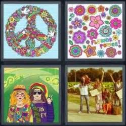 4 Pics 1 Word Answer For Peace Flower Marley Hitchhike