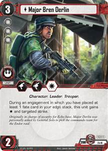 Major Bren Derlin - Press the Attack - Star Wars LCG ...