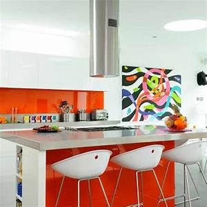 Kitchen colour schemes youll love for Kitchen colors with white cabinets with pop art wall murals