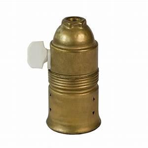 Fassung Mit Schalter : alte e27 lampen fassung vermessingt mit porzellan schalter ~ A.2002-acura-tl-radio.info Haus und Dekorationen