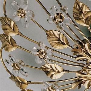 La Luce Leuchten : ferro luce 5 flg deckenleuchte rund handgefertigte glasblumen 640 5 deutsche ~ Sanjose-hotels-ca.com Haus und Dekorationen