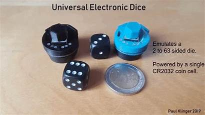 Dice Sides Emulate Binary