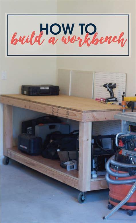 build  rolling workbench   simple diy