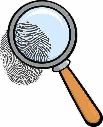Clipart Magnifying Glass Mystery Detective Clip Murder
