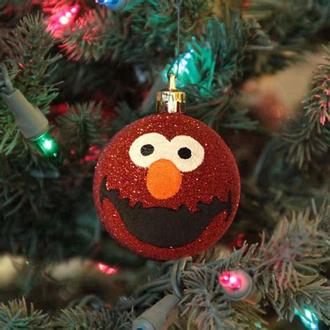 personalized puppet ornaments elmo christmas ornament