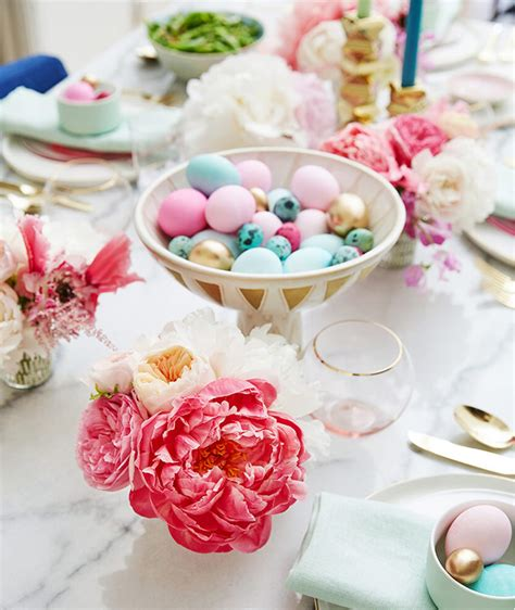 Decorating Ideas For Easter by Easter Decorating Ideas Table Settings Centerpieces