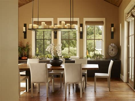 San Francisco Crate And Barrel Chandelier Dining Room