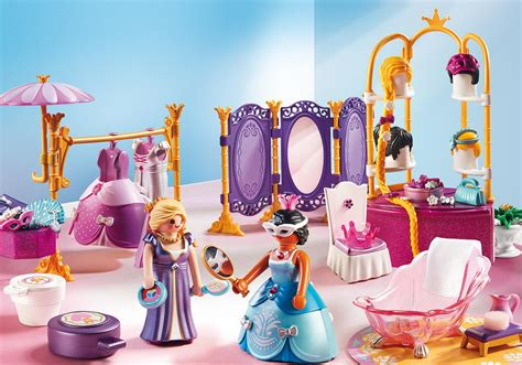 playmobil chambre princesse dressing room with salon 6850 playmobil united kingdom