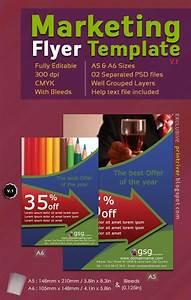 Free Marketing Flyer Photoshoptemplate V 1