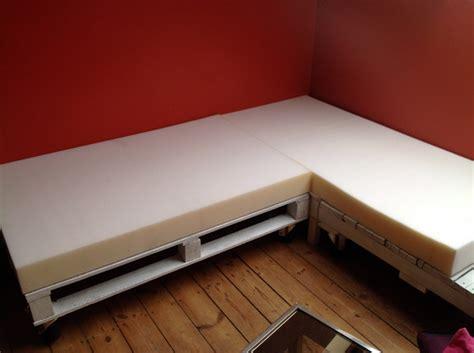 matelas pour canapé palette mousse canape exterieur