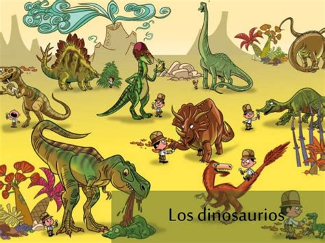 Los Dinosaurios Para Educación Infantil