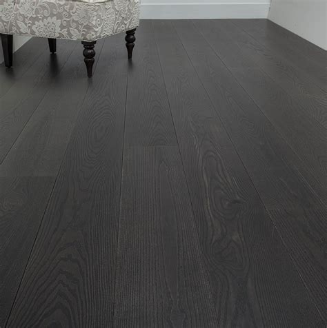 Flooring: Charming Organic Touch Dark Hardwood Floors